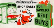 Image of Subway Sun: Shop Early, 1958