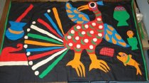 Image of African Applique Cloth