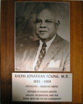 Image of Young Collection - Plaque
