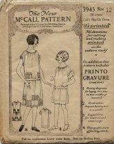 Image of Pattern - The New McCall Pattern, No. 3745