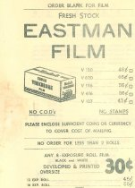 Image of Eastman Film Advertisement