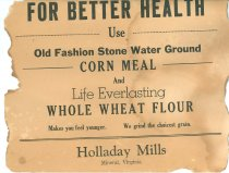 Image of Holladay Mill Advertisement