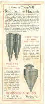 Image of Mill Dust Collector Advertisement