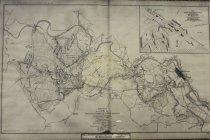Image of National Archival Map Of Chancellorsville, Salem Church Battles