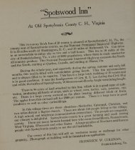 """Image of Ad  For The Sale Of """"Spotswood"""""""