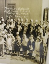 Image of 2nd Baptist Church, Circa 1927
