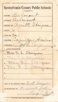 Image of Report Card, Arritt Thompson