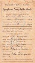 Image of Report Cards, Aritt Thompson