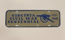 Image of 2015.096.002 - License Plate