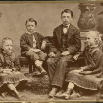 Image of Babbitt Children of Jefferson City, Missouri - 1879