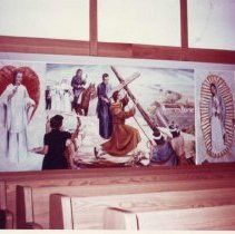 Image of Historical Mural at Sacred Heart -