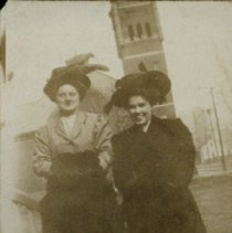 Image of Frances Etelka Redd Krieger and Unknown Woman