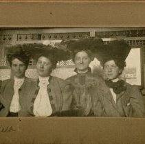 Image of Group of Four Women-Etelka F. Reed Krieger on Left