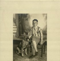 Image of Jack Krieger - With a Dog -
