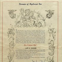 Image of Certificate for Crossing the Equator - Jack Krieger