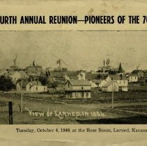 Image of Front of Reunion Program