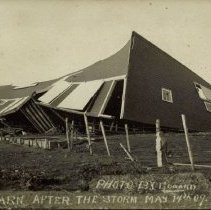 Image of Barn Destroyed by Storm