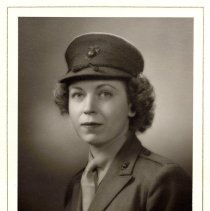 Image of Virginia Lupfer - In Marine Corps Uniform -