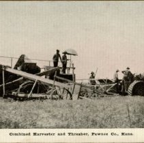 Image of Combined Harvester and Thresher