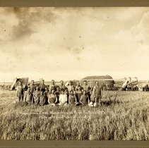Image of Hagerman Brothers Harvesting 1914