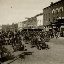 Image of 1908 Auto Parade-Broadway Street