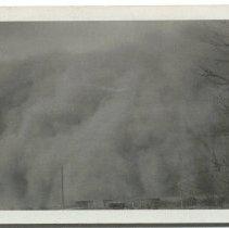 Image of Kansas Dust storm, 1930s. -