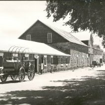 Image of Barn at Fort Larned