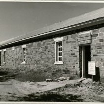 Image of Scout Lodge, Fort Larned Scouts Welcome You -