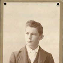 Image of Studio Portrait of Young Man -