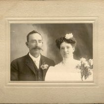 Image of Wedding Portrait Chester Sutton and Amelia Doerr