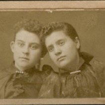 Image of Estelle N. Vernon and Carrie Ingels
