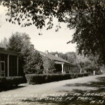 Image of Fort Larned -Old Officers Quarters