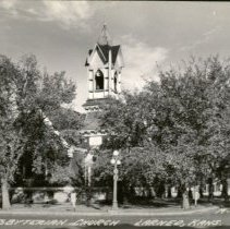 Image of Presbyterian Church - Larned, Kansas