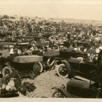 Image of Auto Show -Possibly at Larned Fairgrounds
