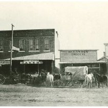 Image of Early Larned Street Scene