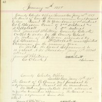 Image of Commissioners Minutes 1889_0007_l