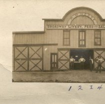 Image of R.N. Wedge Broadway Livery, Feed and Sale Barn