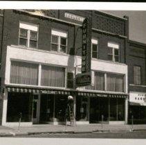 Image of Mullins Furniture Store and Robinson Hardware - Larned, KS -