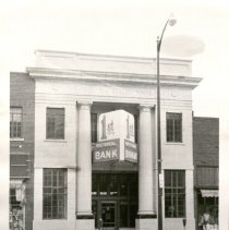 Image of First National Bank on Broadway in Larned. -