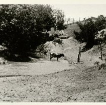 Image of View of Pawnee Crossing. -