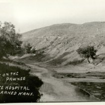 Image of View of Pawnee Crossing and Jenkins Hill. -