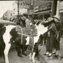Image of Police Ticketing Horse - Jun 19691959