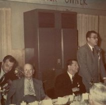 Image of John Schnack with Milton Stone and Others -
