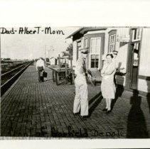 Image of Mostrums' at Garfield Depot - 1947