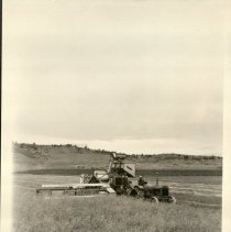 Image of Early McCormack-Deering Equipment Cutting Wheat -