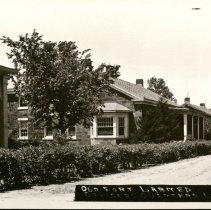 Image of Old Fort Larned Officers Quarters Larned. -