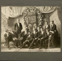 Image of Boys of Class of 1896, Larned, KS - 1896