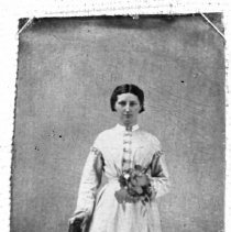 Image of 109. Catherine Wilson Torrance, Wedding Picture, 1st Mrs. Robert James (tor