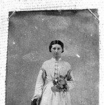 Image of 110. Catherine Wilson Torrance, Wedding Picture, 1st Mrs. Robert James (tor