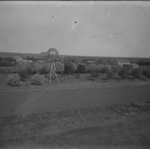 Image of 134. Looking Northwest Toward Hartman Houses & Out Buildings (windmill Says